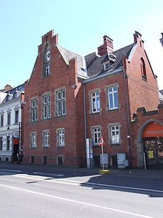 The courthouse in Erftstadt