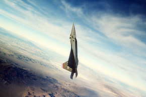 An air-to-air right side view of an YF-22 advanced tactical fighter aircraft during a test flight DF-ST-92-09940.jpg