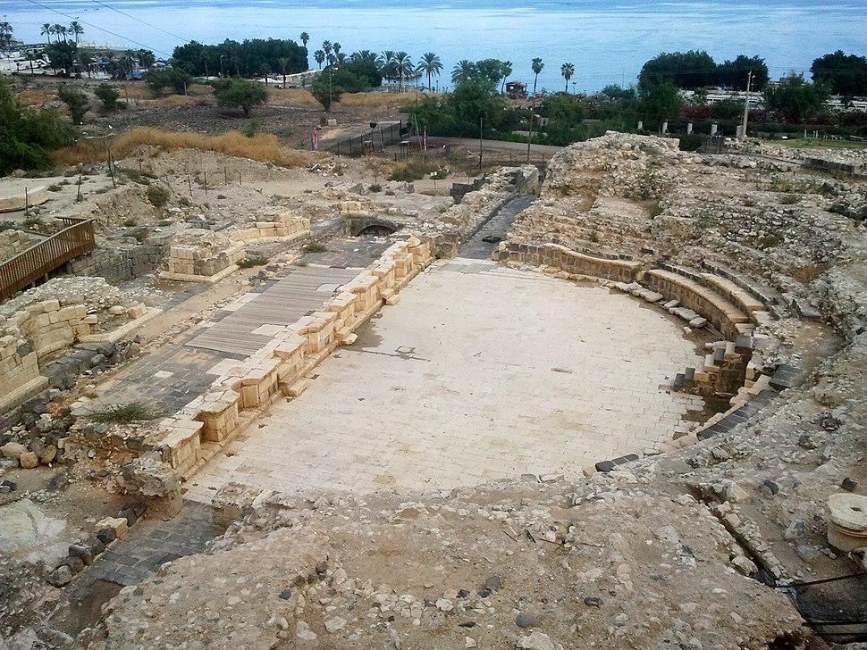 Ancient Roman Theatre in Tiberias (6)