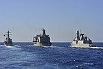Andrea Doria (D 553) approaching USNS Leroy Grumman (T-AO-195) for underway replenishment 131026-N-QL471-450.jpg