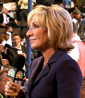 Andrea Mitchell - Mitchell in 2008