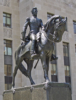 Charles Keck - Statue of Andrew Jackson in front of Jackson County Courthouse (Kansas City, Missouri), 1934