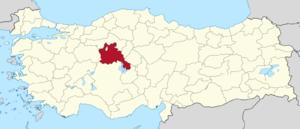 Ankara (1st electoral district) - Image: Ankara (II) in Turkey
