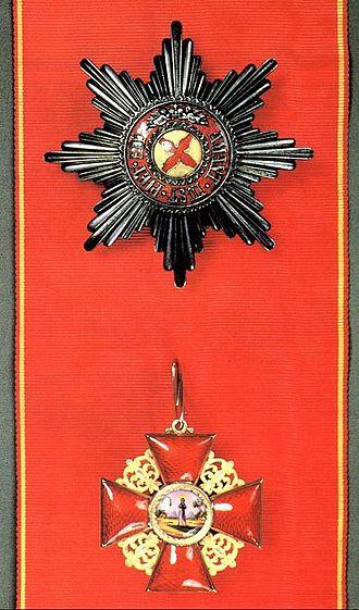 Order of Saint Anna - Image: Anna 1st