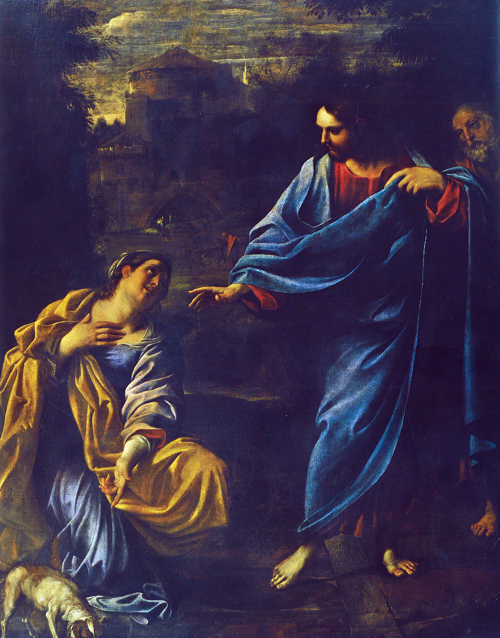 Annibale Carracci, Cristo e la Cananea, 1595, Parma