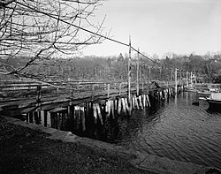 Annisquam Bridge, Spanning Lobster Cove between Washington & River S, Gloucester (Essex County, Massachusetts).jpg