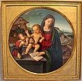 Anonimo toscano, madonna col bambino e s. giovannino, 1500-10 ca..JPG