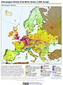 Anthropogenic Biomes of the World, Version 2, 2000 Europe (13604307884).jpg