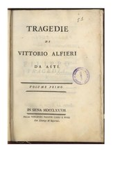 Vittorio Alfieri: Antigone