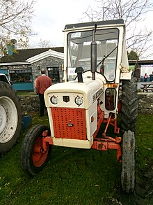 david brown 996 synchromesh tractor (1970s)