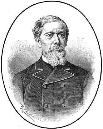 Antonio López, 1st Marquess of Comillas - Litography of the Marquess of Comillas, 1883