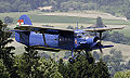 Antonov An-2 (HA-ABA) inflight near Grenchen airfield, Switzerland.jpg