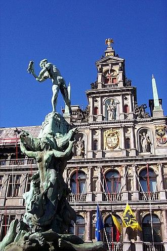 Silvius Brabo - Brabo statue, Antwerp
