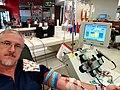 Apheresis of donated platelets 2 units in Australia 2020.jpg