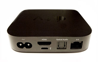 Apple TV - Image: Apple TV 2nd Generation back