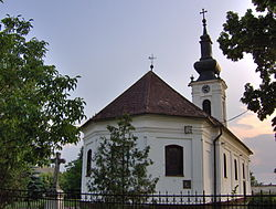 Serbian Orthodox church in Aradac