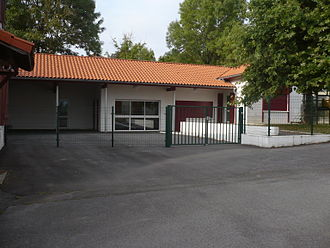 Arbouet-Sussaute - The school in Arbouet