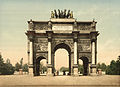 Arc de Triomphe, du Carrousel, Paris, France-LCCN2001698548.jpg