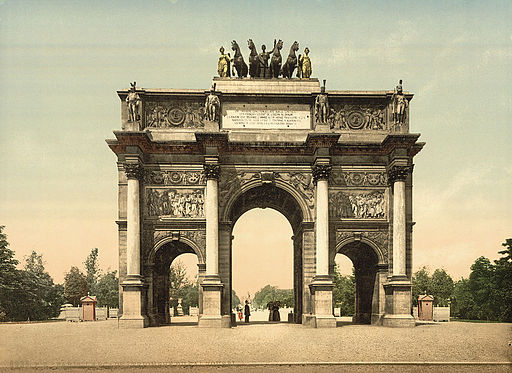 Arc de Triomphe, du Carrousel, Paris, France-LCCN2001698548