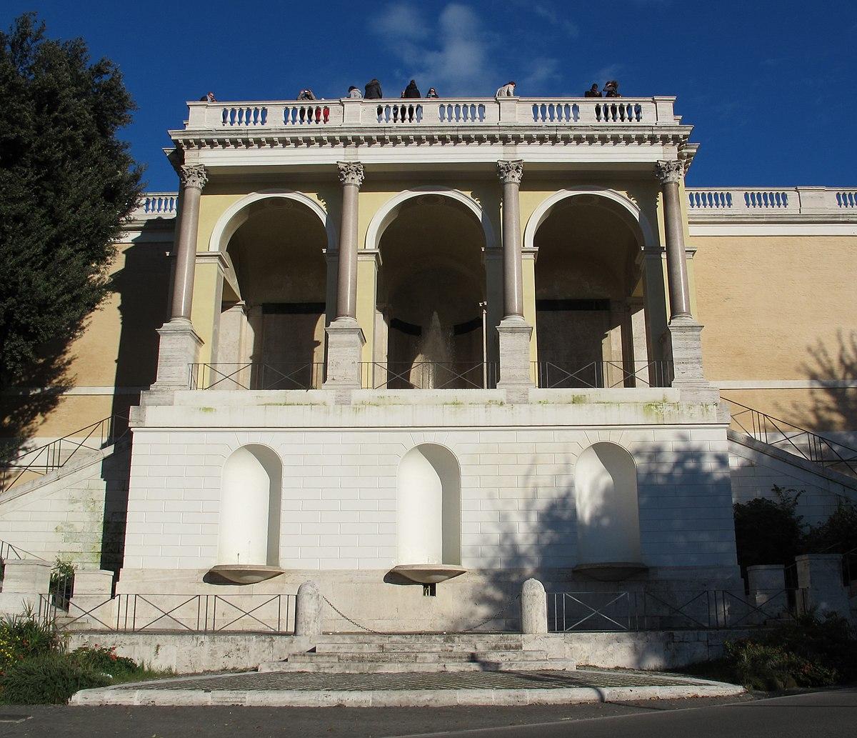 Terrazza del Pincio - Wikipedia