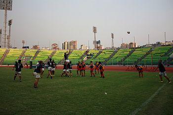 Arcos y Colegio Francia estadio olimpico ucv caracas venezuela