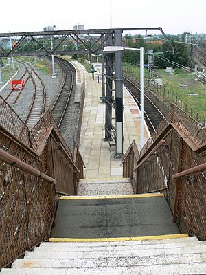 Ardwick railway station - Image: Ardwick Station, Manchester MH1