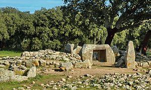 History of Sardinia - Necropolis of Pranu Mutteddu