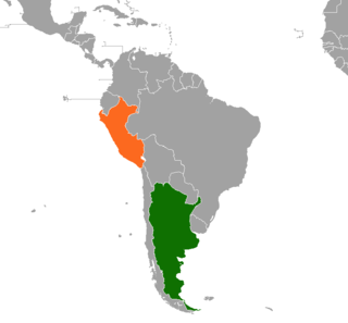 Argentina–Peru relations Diplomatic relations between the Argentine Republic and the Republic of Peru