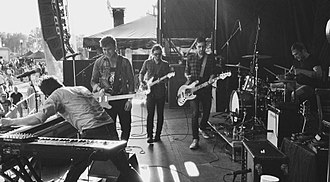 Arkells - Arkells performing live in Buffalo, New York, during the summer of 2013