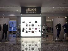 8ef098b72d77e Armani Collezioni at Indooroopilly Shopping Centre