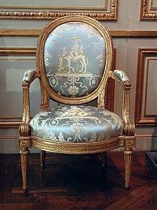 Armchair En Medallion By Louis Delanois 1787