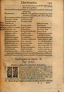 Arnold Wion - Lignum Vitae - 1595 - p311