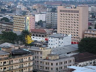 Economy of Cameroon - Douala, the economic capital of Cameroon
