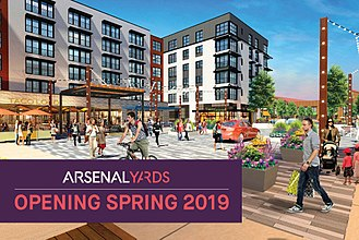 Arsenal Yards - Image: Arsenal Yards 2019