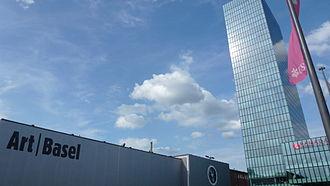 Art Basel - The Art Basel headquarters in Basel, Switzerland