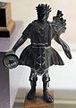 Arte romana, ofefrente con patera e ramo, testa laurata.JPG