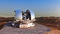 Artist's impression of the European Extremely Large Telescope.jpg