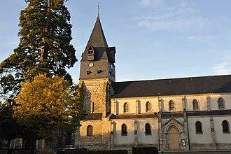 Aschères-le-Marché - The church in Aschères-le-Marché