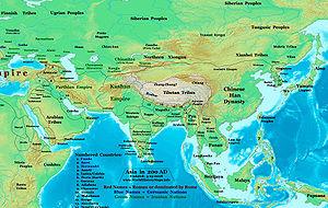 Wusun - Wusun and their neighbours around 200 AD.
