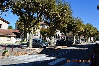 Assieu - A street in Assieu