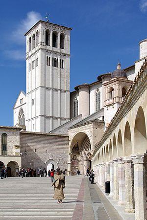 English: Assisi, Basilica San Francesco