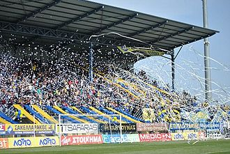 Asteras Tripoli F.C. - Asteras Tripolis' fans