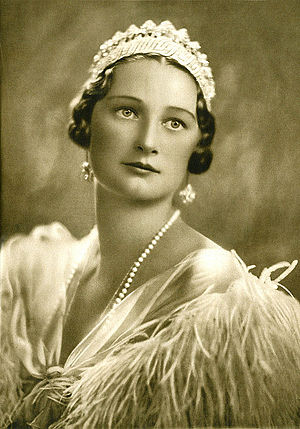 Astrid of Sweden - Queen Astrid of Belgium in 1935.