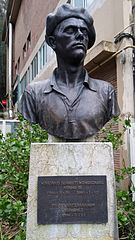 bust of Mariano Juaristi