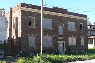 National Register of Historic Places listings in Douglas County, Nebraska - Image: Atlas Apartments (Omaha) from NE 1