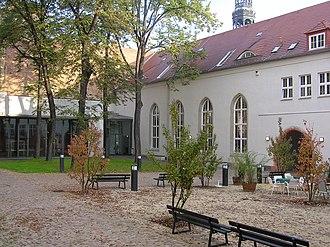Westsächsische Hochschule Zwickau - University of Applied Sciences Zwickau - Auditorium of the University of Applied Sciences Zwickau, built on the area of a former monastery