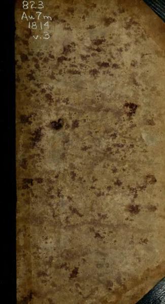 File:Austen - Mansfield Park, vol. III, 1814.djvu