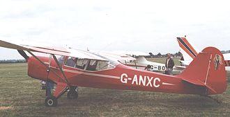 Auster Alpine - Auster J/5R Alpine at Wellesbourne Mountford Airfield in June 1996
