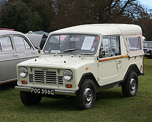 Austin Ant aka ADO19 prototype of aborted Mini Moke replacement registered February 1969 1098cc.JPG