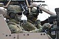 Australian soldiers in a High Mobility Transporter during Talisman Sabre 2019.jpg